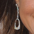 Eva la Rue Dangling Diamond Earrings