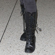 Evan Rachel Wood Shoes - Lace Up Boots