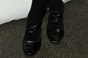 Eve Hewson High Heel Oxfords