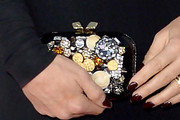 Jenny McCarthy Gemstone Inlaid Clutch