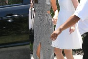 Lea Michele Cutout Dress