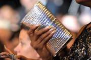 Fantasia Barrino Metallic Clutch