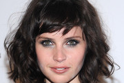 Felicity Jones Messy Cut