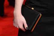 Felicity Jones Satin Clutch