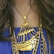 Fergie Jewelry - Gold Pendant