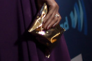 Kerry Washington Metallic Clutch