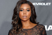 Gabrielle Union Radiates With Long Polished Curls