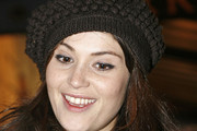 Gemma Arterton Crocheted Beret