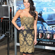 Genesis Rodriguez Clothes - Strapless Dress