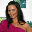 Georgina Chapman Hair - Long Straight Cut