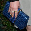 Ginnifer Goodwin Leather Clutch