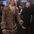 Giuliana Rancic Clothes - Fur Coat