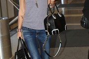 Gwyneth Paltrow Leather Bowler Bag