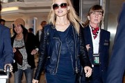 Heather Graham Leather Jacket