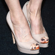 Heather Graham Peep Toe Pumps