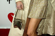 Heather Locklear Metallic Purse