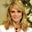 Heidi Klum Hair - Medium Wavy Cut with Bangs
