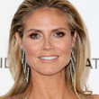 Heidi Klum Hair - Teased