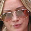 Hilary Duff Aviator Sunglasses