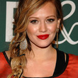Hilary Duff Long Braided Hairstyle