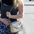 Hilary Duff Studded Shoulder Bag