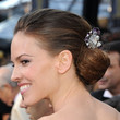 Hilary Swank Hair - Chignon