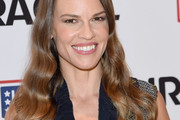 Hilary Swank Long Hairstyles