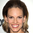 Hilary Swank Hair - Short Straight Cut