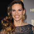 Hilary Swank Hair - Side Sweep