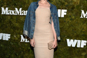 Jena Malone Strapless Dress