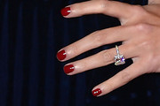 Ivanka Trump Red Nail Polish