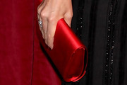Jacqui Ainsley Satin Clutch