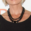 Jaime Pressly Multi Beaded Necklace