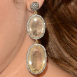 Jamie-Lynn Sigler Jewelry - Dangling Gemstone Earrings