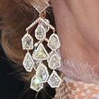 Jane Fonda Dangle Decorative Earrings