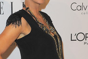 Jenna Elfman Layered Sterling Necklace