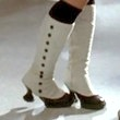 Jenna Ushkowitz Knee High Boots