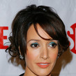 Jennifer Beals Hair - Messy Updo