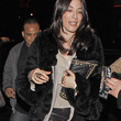 Jennifer Carpenter Clothes - Fur Coat