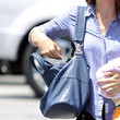 Jennifer Garner Handbags - Leather Shoulder Bag