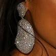 Jennifer Hudson Jewelry - Dangling Diamond Earrings