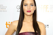 Jennifer Lawrence Long Straight Cut