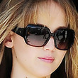 Jennifer Lawrence Sunglasses - Oversized Sunglasses