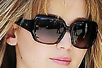 Jennifer Lawrence Oversized Sunglasses