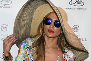 Jennifer Lopez Casual Hats