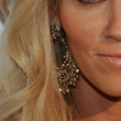 Jenny McCarthy Gold Dangle Earrings