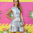Jessica Alba Clothes - Print Dress