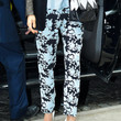 Jessica Alba Clothes - Print Pants