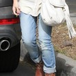 Jessica Alba Clothes - Ripped Jeans