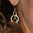 Jessica Aldean Jewelry - Gold Dangle Earrings